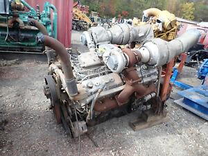 Detroit Diesel 12v92tta Turbo Diesel Engine Runs Exc 2800 Hrs 12v92 V12 Ddec Ebay