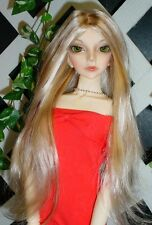 "DOLL Wig, Monique Gold ""Pretty Girl"" Size 7/8 in LIGHT PEACH W GINGER BROWN"