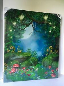 LED-Light-Up-Picture-Outdoor-All-Weather-Art-Canvas-Timer-20-x-24-Twinkle-Trail