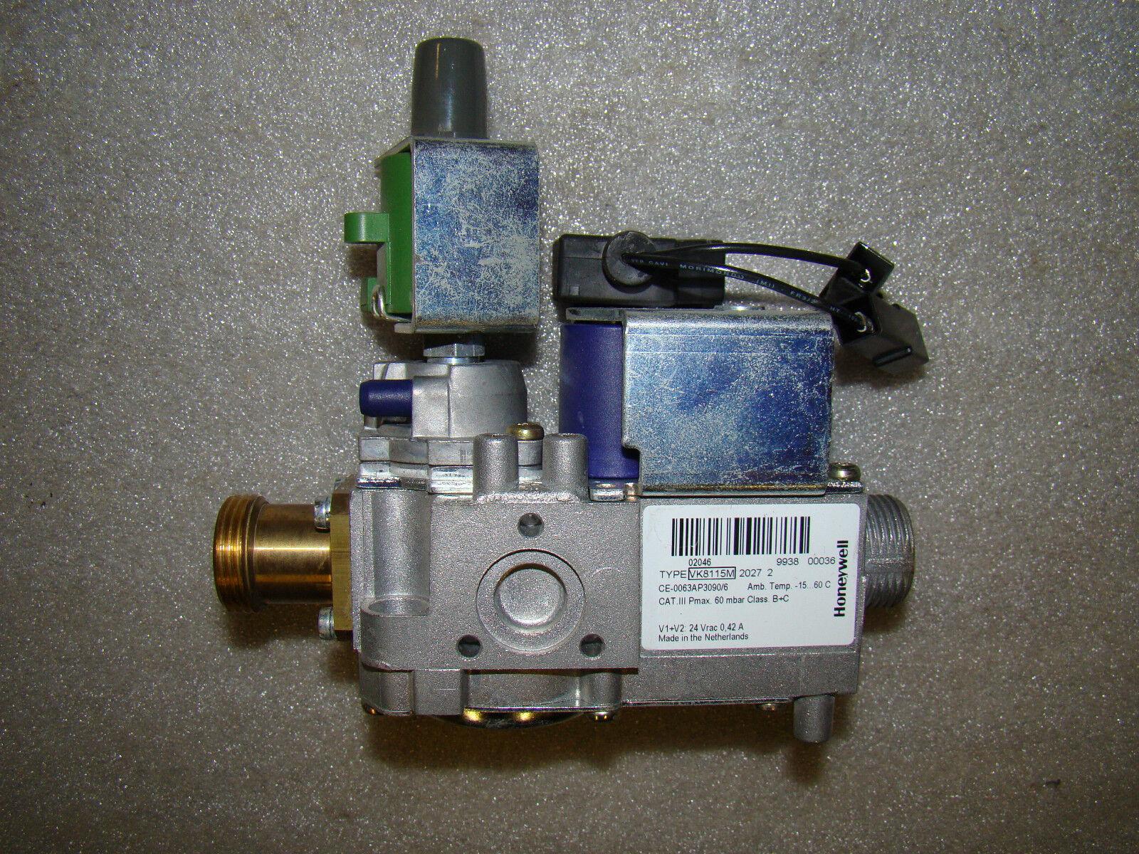 Honeywell Type VK 8115 M 2027-2 Gaskombiregler-VK 8115 M  Gasarmatur