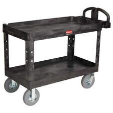 Rubbermaid Commercial Products Fg454610bla Utility Cart750 Lb Load Cap