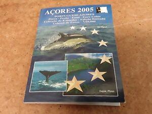 Acores 2005-euro € Spécimen Pattern Coin Set-gratuit Uk P & P-afficher Le Titre D'origine Faire Sentir à La Facilité Et éNergique