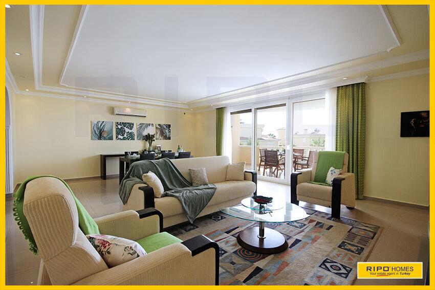 Alanya Mahmutlar - Flot moderne lejlighed med...