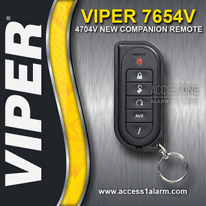 5901 4704 /& 5902 VIPER 7654V REPLACEMENT COMPANION REMOTE TRANSMITTER FOR 5501