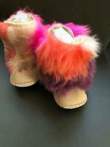 Cassie Fluff Infant Baby Boot Size