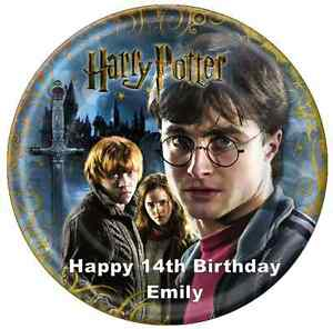 Personalised A4 Harry Potter Edible Wafer Paper Cake Topper