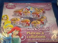 DISNEY PRINCESSES PARTY SNACK / CUPCAKE STAND - DISPOSABLE - NEW