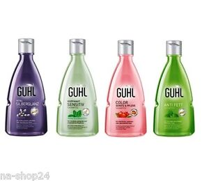 75ml guhl shampoos volumen bier blond anti schuppen fett color ebay. Black Bedroom Furniture Sets. Home Design Ideas