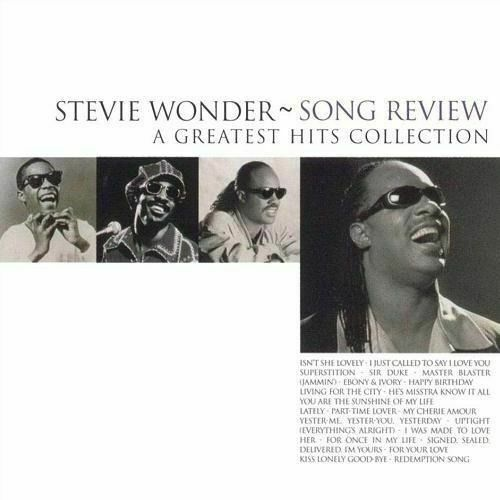 STEVIE WONDER - Song Review CD *NEW* Greatest Hits Collection
