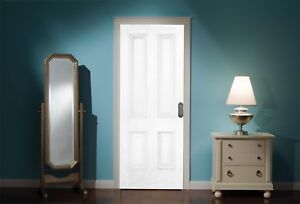 Door-Mural-White-Door-View-Wall-Stickers-Decal-Wallpaper-334