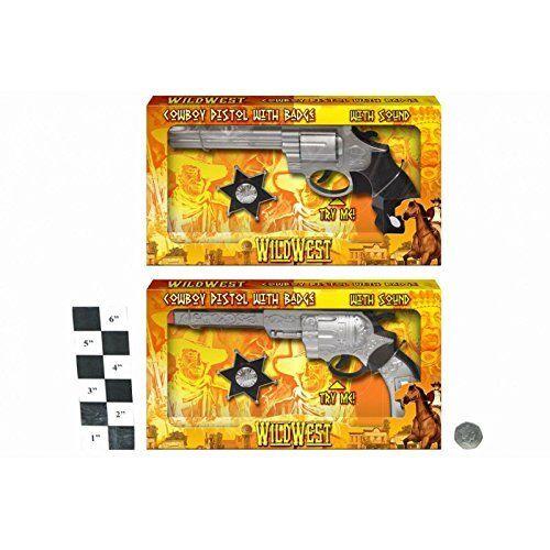 HL270 sound-COWBOY Wild West Cowboy Pistolet avec badge