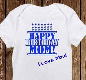 Happy Birthday Mommy Onesie