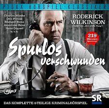 Spurlos verschwunden * CD Hörspiel Krimi von Roderick Wilkinson Pidax MP3-CD Neu