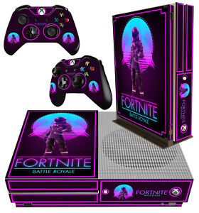 Xbox One S Slim Sticker Fort Nite 02 Battle Royale Building Skin 2