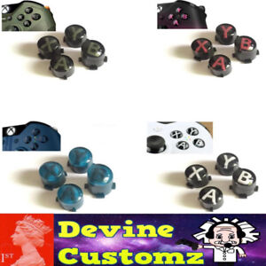 Details about Xbox one controller ABXY custom special limited edition  buttons letters elite