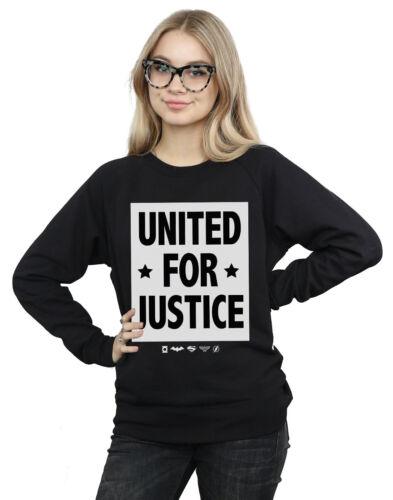 Comics Dc United League femme Felpa Justice Pour pd6dqO