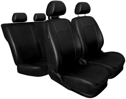 Car seat covers fit MERCEDES C CLASS full set Leatherette black