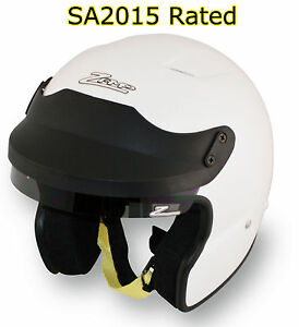 ZAMP-JA-3-SA2015-Open-Face-Auto-Racing-Helmet-Snell-Rated-SCCA-AutoX-Rally