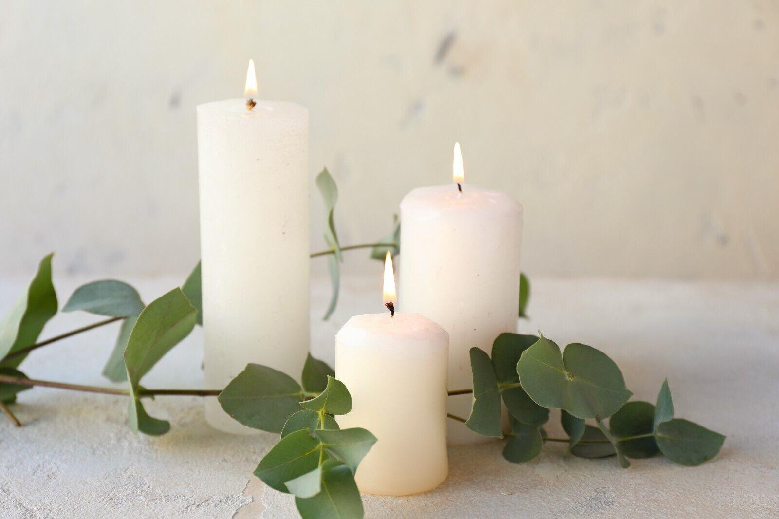 Paraffinwachs für Kerzen - Verschiedene Größen Kerzenwachs zum Gießen