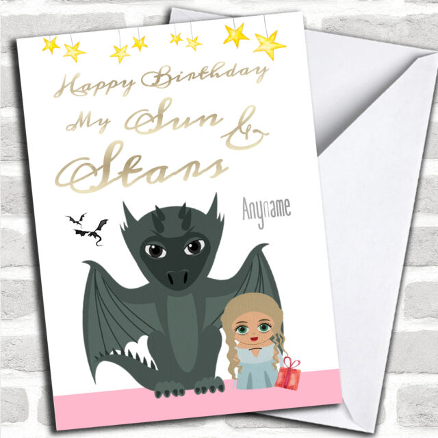 Got Daenerys Cute Game Of Thrones Birthday Personalized Greetings