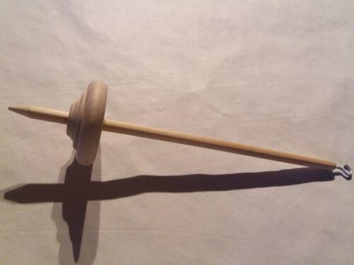 Handspindel Holzspindel Wollspindel Spindel 30cm NEU