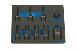 Laser-Tools-7977-Dual-Drive-Hex-Impact-Bit-Socket-Set-9pc