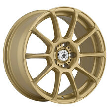 4-NEW Konig 41G Runlite 16x7.5 5x100  Gold Wheels Rims