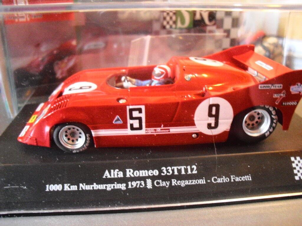 SLOT SRC 00802 Alfa Romeo 33TT12 1000 km nürburgring 73 3 Nuovo New 1 32