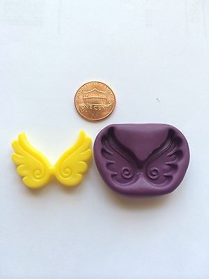 Angel wings flexible push mold for Resin Polymer clay