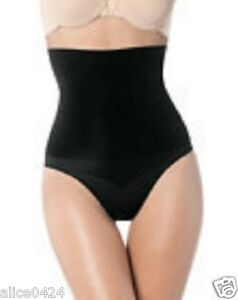 a63f4f5dedd Image is loading SPANX-Black-Undie-tectable-Hi-waist-Shapewear-Panty-
