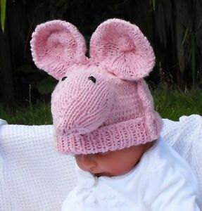 KNITTING-INSTRUCTIONS-BABY-BIG-EARS-SUGAR-MOUSE-BEANIE-HAT-KNITTING-PATTERN