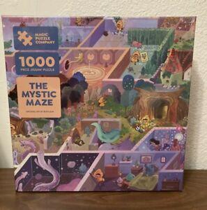 "Magic Puzzle Company ""The Mystic Maze"" 1000 Piece Jigsaw Puzzle"