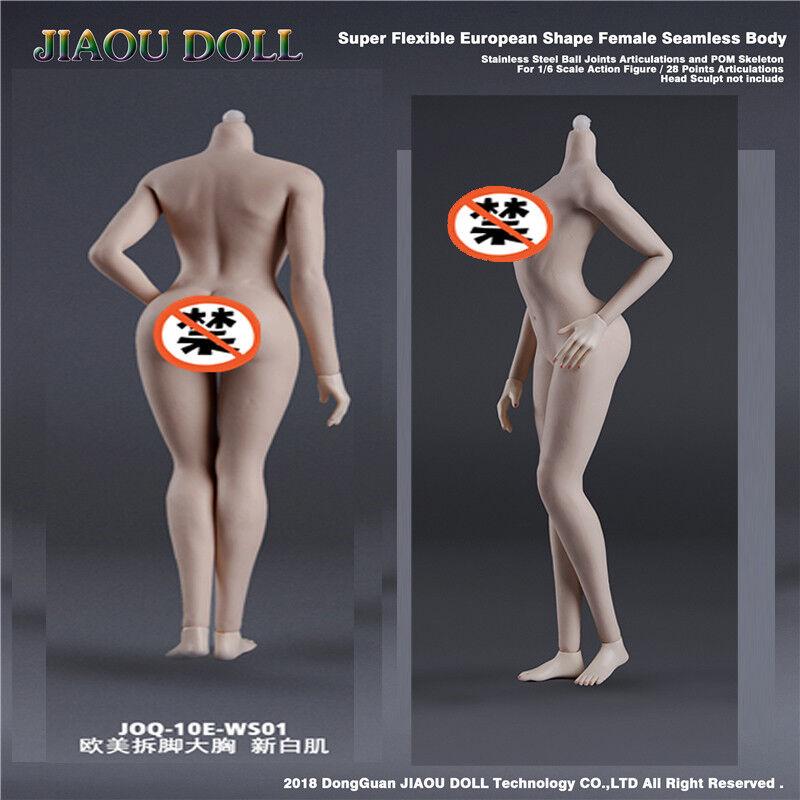 1 6 JIAOU bambola Female Steel Skeleton gree autoautobust cifra  corpo No Head  ecco l'ultimo