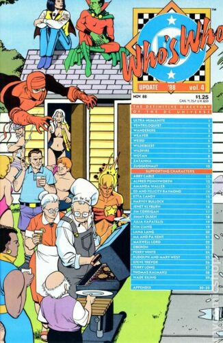 Who/'s Who Update 1988 #4 FN Stock Image