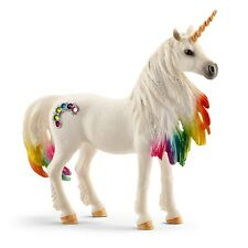Schleich North America 216413 Rainbow Unicorn Mare Toy Figure