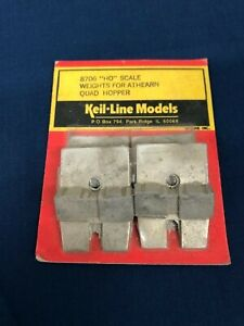 Keil-Line-Models-HO-Scale-Weights-For-Athearn-Quad-Hoppers-8706