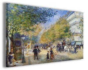 Quadri famosi Pierre Auguste Renoir vol XXV Stampa su tela ...