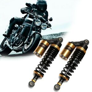 Pair 12 5 320mm Motorcycle Air Shock Absorbers Suspension For Honda Suzuki Bmw Ebay