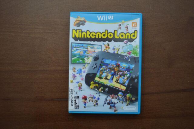 Nintendo Land (Nintendo Wii U, 2012) No Manual