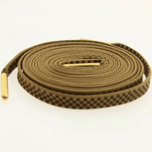 $6.00 Starks Laces Checkers Shoelaces shoestrings 0034-45Inch-1S