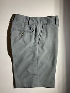 Polo-Ralph-Lauren-Boys-Size-16-Golf-Shorts-Grey-Heather-MSRP-55-00