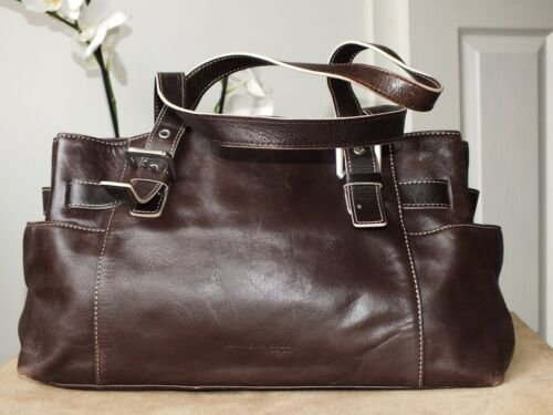 lederen Bruin handtas Kenneth Cole medium 1TKclFJ