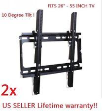 "2xTilt LCD 803 LED Plasma Flat  TV Wall Mount 26 32 40 42 46 50 52 55"""