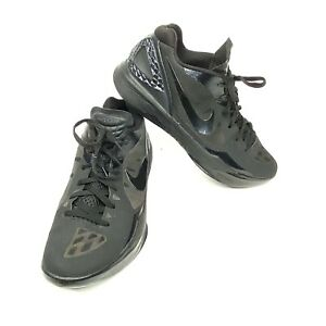 Nike-Zoom-Hyperdunk-Flywire-Mens-Basketball-Shoes-Black-487638-004-Size-13-2012