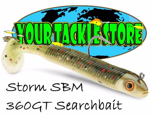 "Storm SBM 360GT Searchbait 3.5/"" 1//8 oz jig Pick Color /& Quantity NIP"