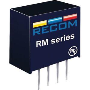 Recom-10000544-rm-1205s-0-25w-DC-Convertidor-de-cc-12v-in-5v-out
