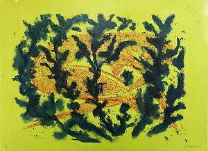 René Collamarini (1904-1983) Abstrait 3/8 Jean Boucher Musée Rodin Tachisme