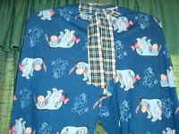 Disney Eeyore Womens Lounge/sleep Pants Bow
