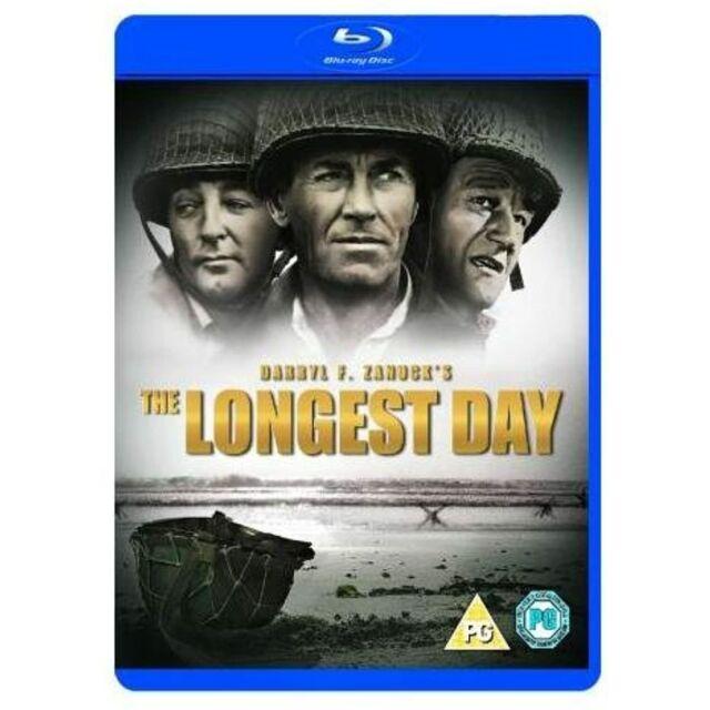 The Longest Day [Blu-ray] [1962] 2-Disc Set [Region Free / ALL / A, B & C)