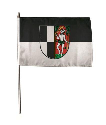 Stockflagge Fahne Flagge Naila 30 x 45 cm